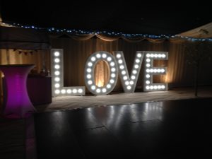 Light Up Letter Hire Hampshire